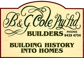 B&G Cole Sign